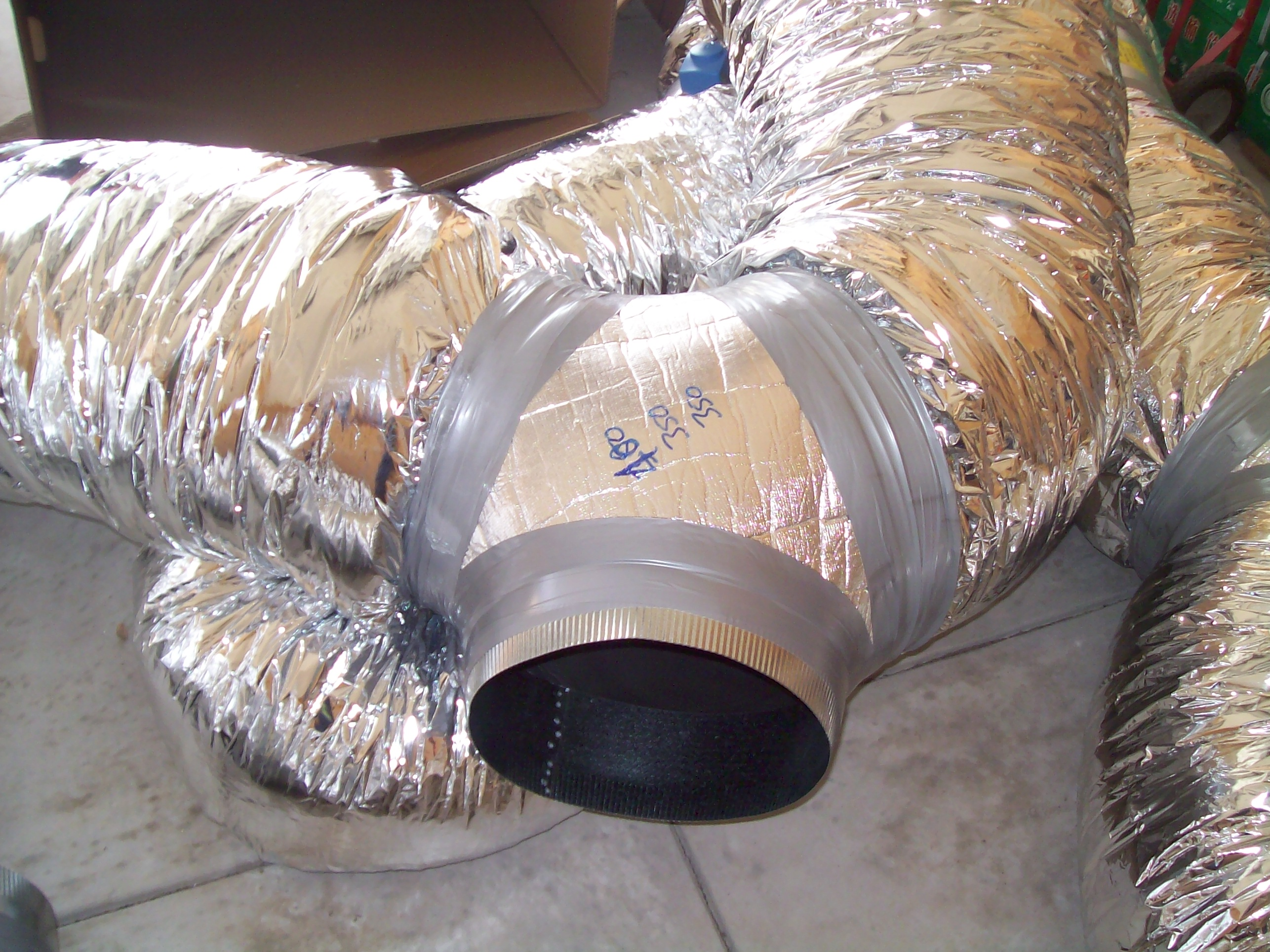 Air Conditioning Flexible Duct : Ducted reverse cycle air conditioning perth
